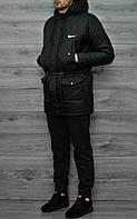 Куртка зимняя, осенняя парка мужская, до - 10 градусов