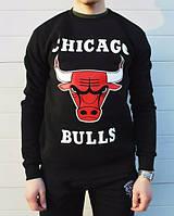 Спортивная кофта chicago bulls, черный цвет, Л4161