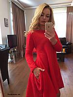 Теплое платье Джорджия ян