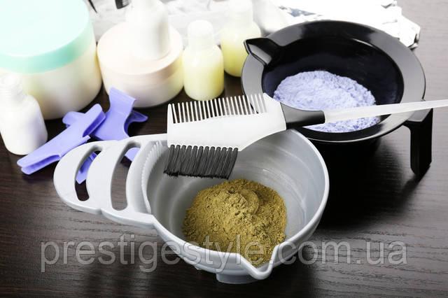 Як визначити витрату фарби для волосся і вартість фарбування?