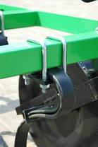 Культиваторы тракторные навесные 2,50 м. 17 лап Bomet, фото 2