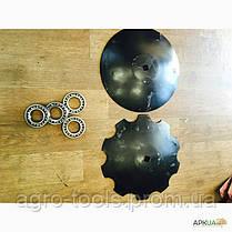 Бороны дисковые навесные Bomet 3,15 м. 4 секции БЕЗ  КАТКА , фото 3