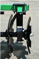 Борона тракторная дисковая 2,4 м. 2 секции Bomet  БЕЗ  КАТКА , фото 3