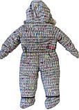 Зимний комбинезон для девочки NANO F17 M 474 Frost Grey. Размер 18 мес., фото 2