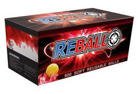 Пейнтбольные резиновые шары Reball Rental 100 шт