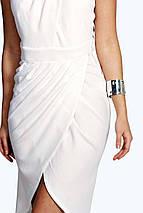 Белое миди платье Boohoo, фото 2