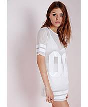 Удлиненная футболка Missguided, фото 3