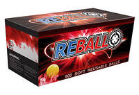 Пейнтбольные резиновые шары Reball Rental Box