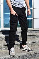 Мужские брюки-карго Bronson черные