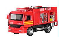 Пожарная металлическая машина