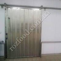 Морозильные раздвижные двери