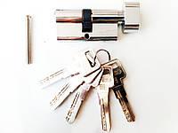 Fuaro R602 80 мм 35х10х35 ключ/тумблер хром (Китай), фото 1