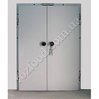 Холодильные двустворчатые двери