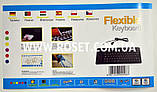 Гибкая силиконовая клавиатура для компьютера и ноутбука UKC Flexible Keyboard, фото 4