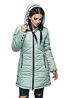 Женская зимняя куртка удлиненная