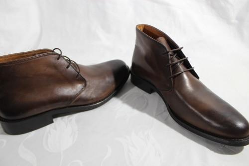Итальянские мужские ботинки 42 размер 28.5см
