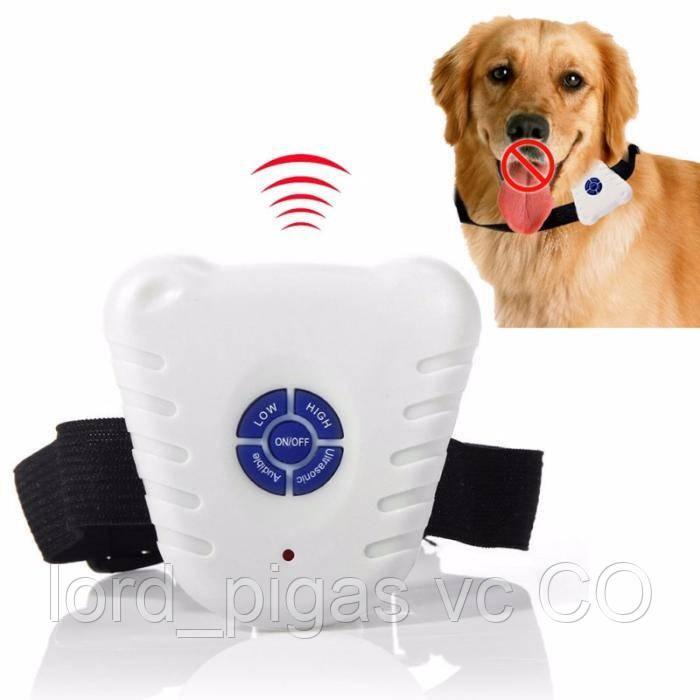 Ультразвуковой антилай - ошейник для собак Bark Control dog Collar