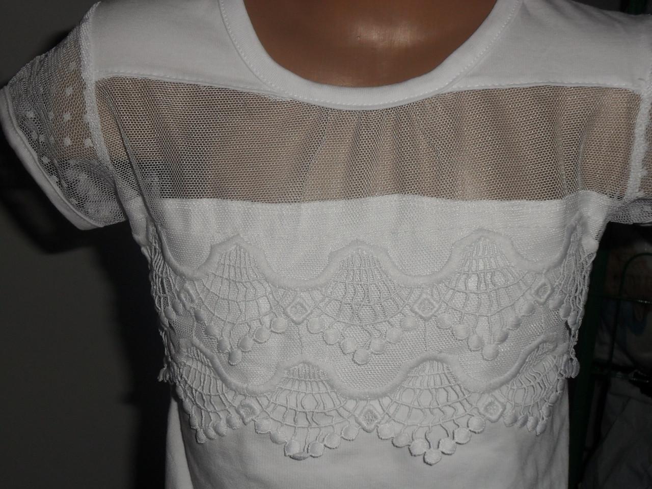 7c50b9c6cf1 ... Нарядная белая блузка для девочки
