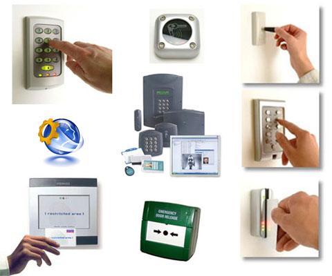 Монтаж систем контролю доступу