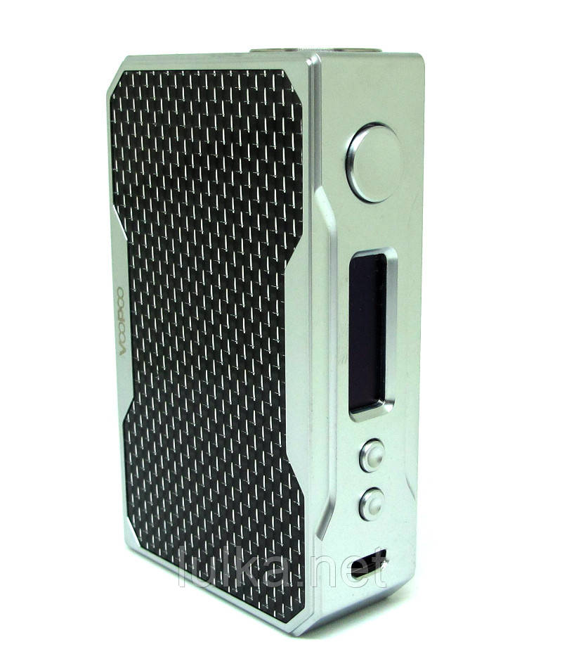 VOOPOO DRAG 157W TC Box Mod (Silver/Black)