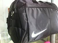 Небольшая черная спортивная сумка хорошего качества