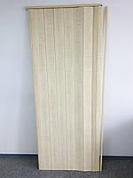 Межкомнатная дверь гармошка глухая сосна 7012, 810*2030*6 мм, доставка новой почтой