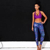 Лосины/леггинсы спортивные женские для спорта, фитнесса, зала, йоги, бега, фото 1