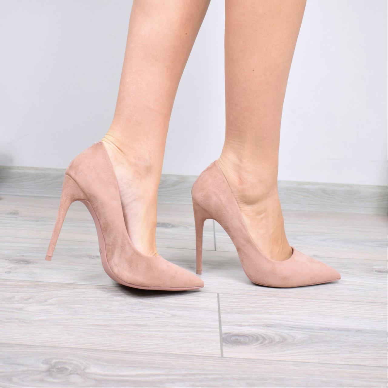 Туфли женские на шпильке Vices So Kate бежевая пудра 3615, CHRISTIAN  LOUBOUTIN b4aeb38a625