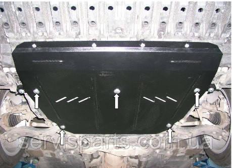 Защита двигателя Toyota Avensis 3 2009- (Тойота Авенсис)