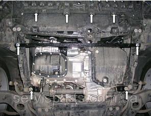 Защита двигателя Toyota Avensis 3 2009- (Тойота Авенсис), фото 2