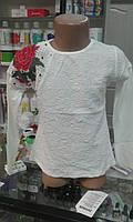 """Нарядная блузка для девочки """"Роза"""", размер 6 лет"""
