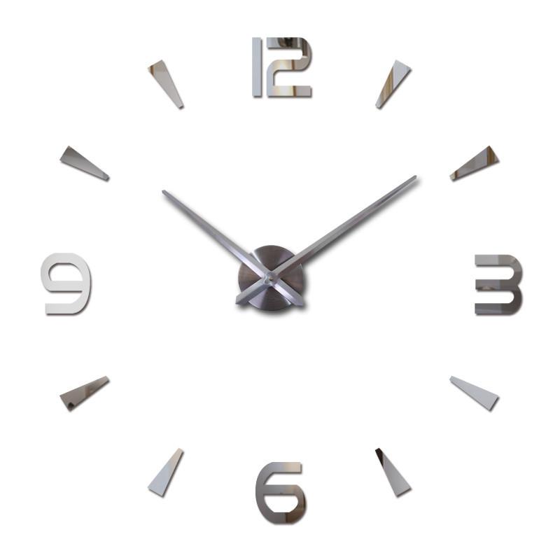 Большие настенные Комбинированные 3Д часы 3d DIY Clock часы 70-150см