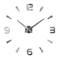 Большие настенные Комбинированные 3Д часы 3d DIY Clock часы 70-150см, фото 1