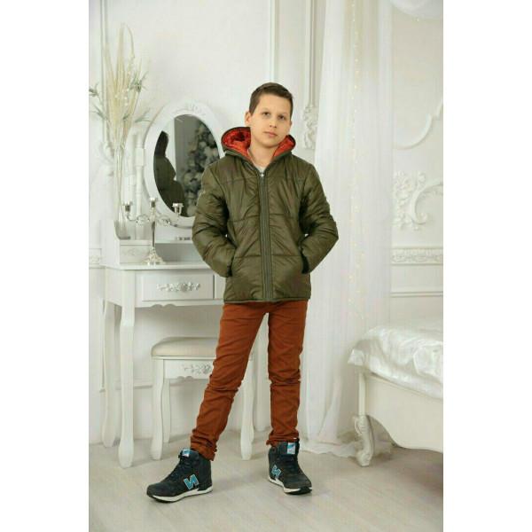 0b8e80f6c5c Куртка Двухсторонняя подросток  продажа