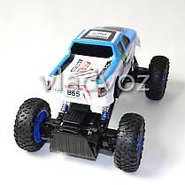 Джип на радио управлении машинка внедорожник модель Rock Crawler синий 1:14, фото 2