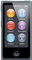 Мультимедийный портативный проигрыватель  Apple iPod nano 7Gen 16GB Slate (MD481)