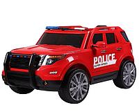 Детский электромобиль - Police -микрофон, пульт управления, высокий клиренс