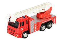 Инерционная пожарная машина (металлическая)