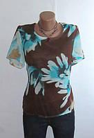 Блуза от Va Fene Стройнящий Крой Размер: 50-L