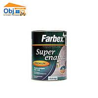 Фарбекс эмаль алкидная коричневая Farbex  ПФ-115 (0,9кг)