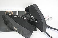 Кеды женские черного цвета размеры 36-41
