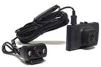 Автомобильный видеорегистратор на 2 камеры Falcon HD77-2CAM