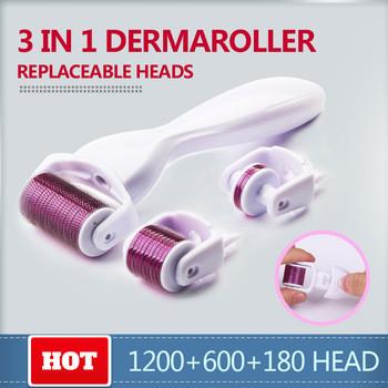Дерматороллер, мезороллер 3 в 1