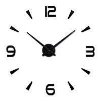 3d наклейка настенные часы 005В