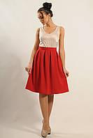 Красивая женская юбка полусолнце.