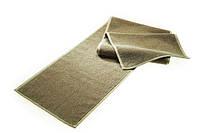 Полотенце массажное двухстороннее лен/хлопок с антибактериальной защитой Кофе
