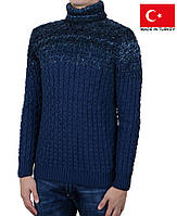 Комфортный и очень теплый свитер на зиму,ветренную погоду на мальчика-подростка