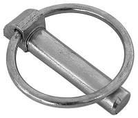 Шплинт (штифт) DIN 11023 быстросъемный с кольцом.