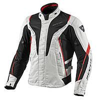 "Куртка REV'IT VAPOR  текстиль silver\red ""L"", арт. FJT183 4020"