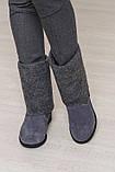 Женские зимние полусапожки - валенки (разные цвета) ТМ Bona Mente, фото 8